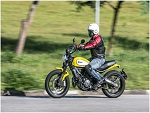 Avaliação Ducati Scrambler - Cartão de Visita