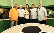 TV Gazeta estreia Super Mesa Esportiva na Internet - Cartão de Visita